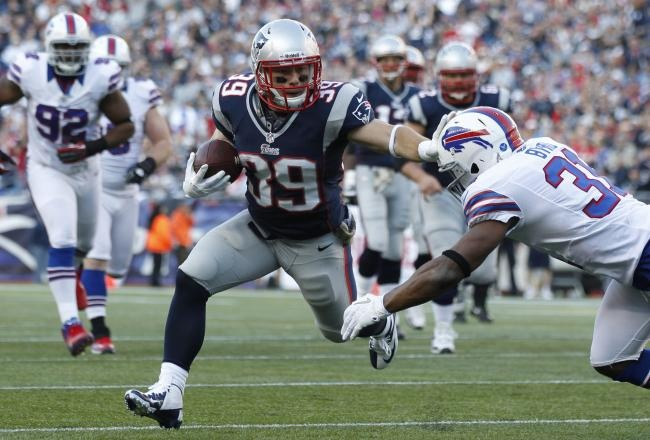 Danny Woodhead - this kid is literally made out of swag