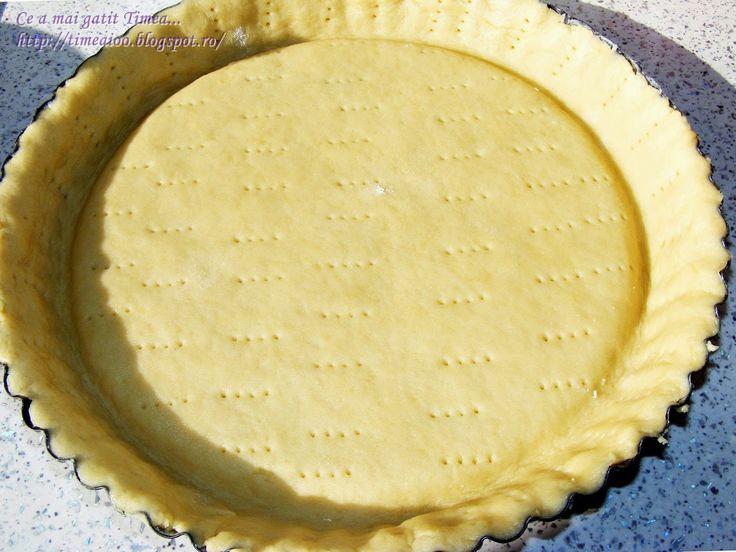 Ce a mai gatit Timea...: Aluat de baza pentru tarte dulci
