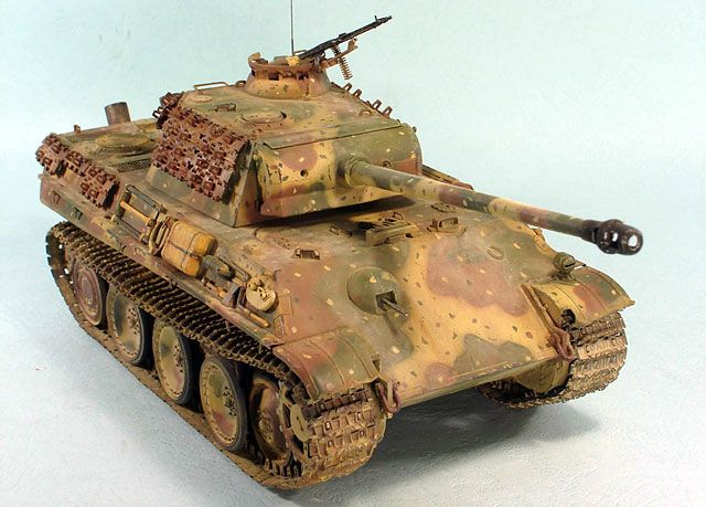 Panther Ausf G By Yan Feng Dragon 1 35 Armor Germany