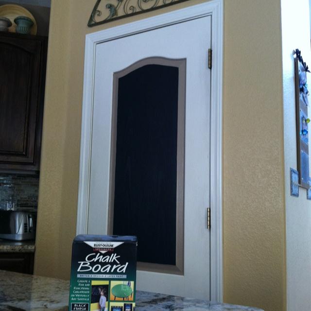 Chalkboard pantry door creative ideas pinterest for Pantry door ideas