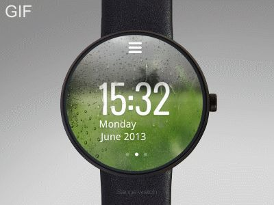 This is a smart watch concept. It not only has the time and weather information, but also has energy alarm function. When the energy value is exceeded, the watch will send an alarm signal that let ...