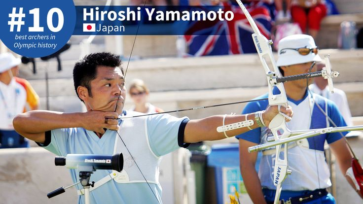 Best Olympic Archers of All-Time: #10 Hiroshi Yamamoto