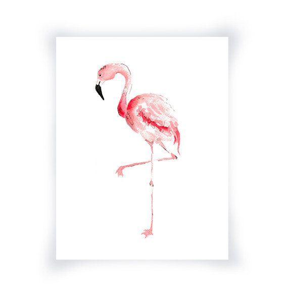 17 best ideas about coastal art on pinterest coastal wall decor coral wate - Flamant rose decoration ...