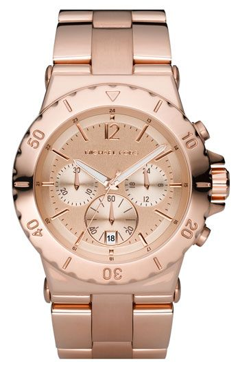 love rose gold. love michael kors.