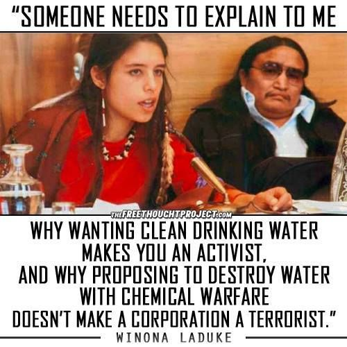 Truth be told...First We stole Their LAND & Now We Are Poisoning it WHAT THE…
