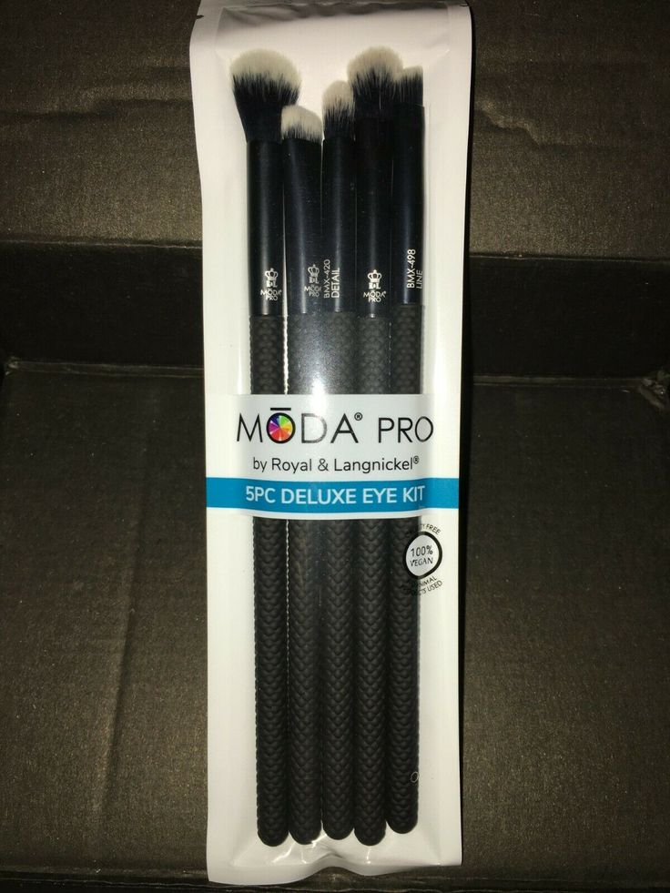 MODA PRO by Royal & Langnickel 5 PC Deluxe Eye Kit