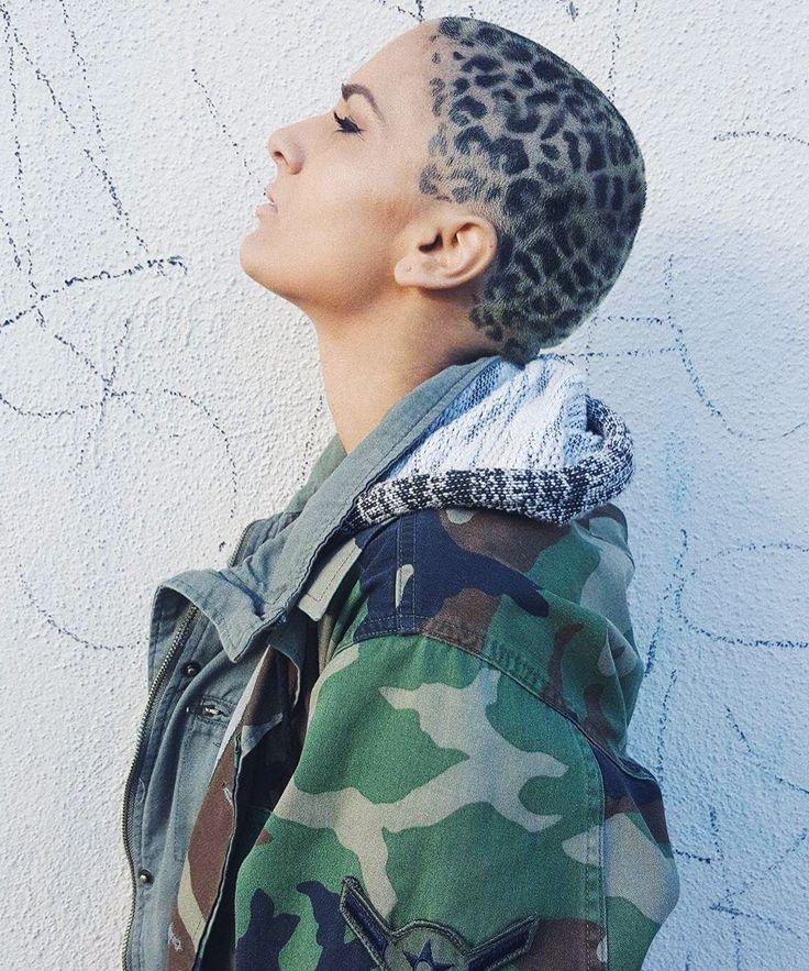 Tierisch gut: Leo Prints sind der neue Frisuren-Trend auf Instagram & so funktioniert's #refinery29