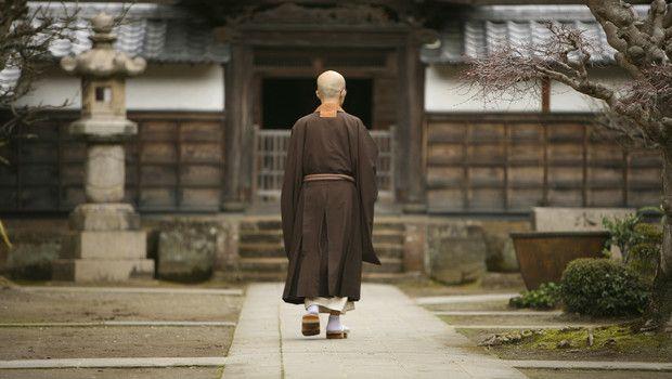 Monnik Japanse kunst en cultuur