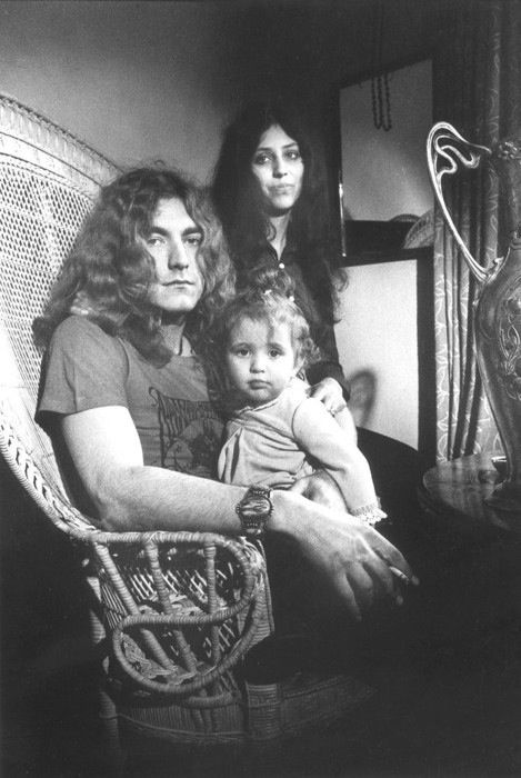 ~Robert Plant with his wife Maureen and daughter Carmen | Robert Plant ...
