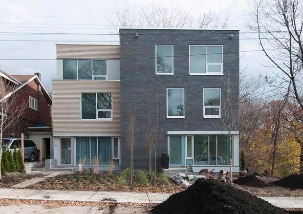 Steven fong upgrades the toronto modern home black brick for Modern house upgrades