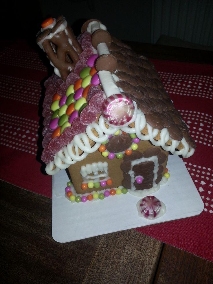 Christmas Gingerbread House 2014