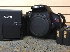 Canon EOS Rebel T3 / EOS 1100D 12.2MP Digital SLR Camera (Body Only)