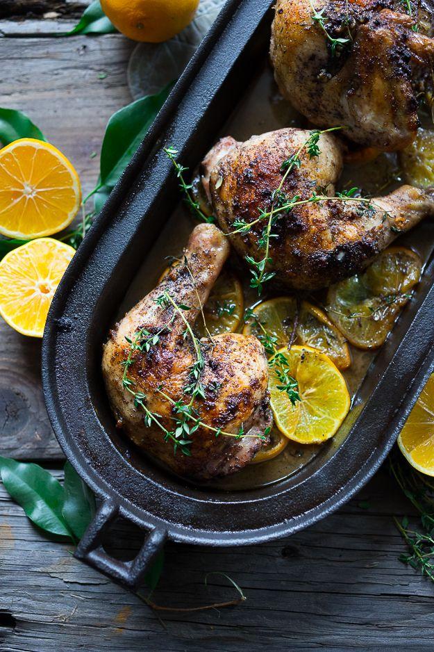 Roasted Chicken with Sumac | Recipe | Pinterest | Middle eastern chicken, Middle eastern dishes and Lemon