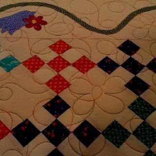Variegated thread: Varieg Thread, Quilts