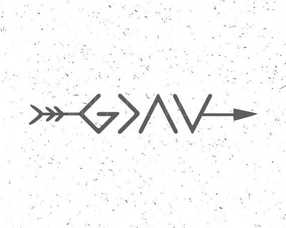 god is greater than the highs and lows svg christian svg
