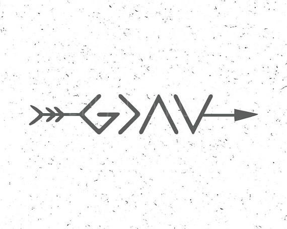 God is greater than the maximum and minimum svg God is greater svg file God SVG Christian religious SVG Cricut Digital cut file SVG silhouette