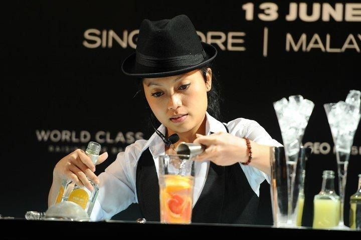 Diageo World Class Competition @ Conrad Hotel Singapore