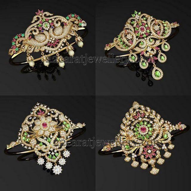 Jewellery Designs: Different Style Diamond Armband Designs
