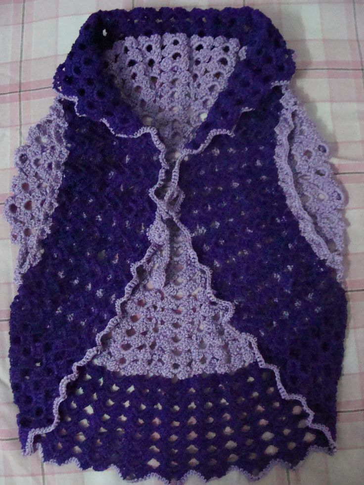 crochet shrug(front side)