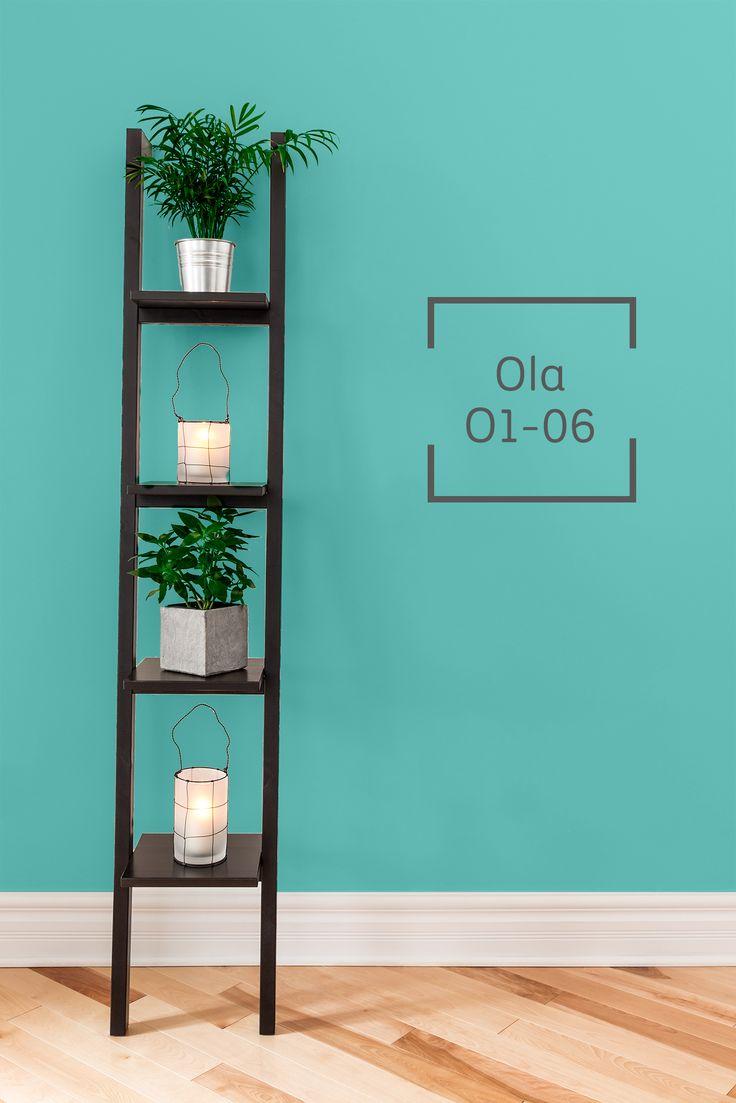 Revive con un toque de color esos pequeños rincones de tu hogar.