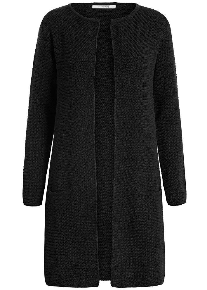 Sibin Linnebjerg Cardigan sort SL1021 Mary Cardigan 1999 black – Acorns