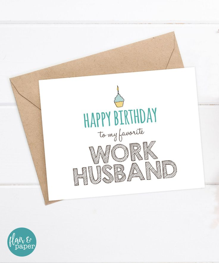 25+ Best Ideas About Husband Birthday Cards On Pinterest