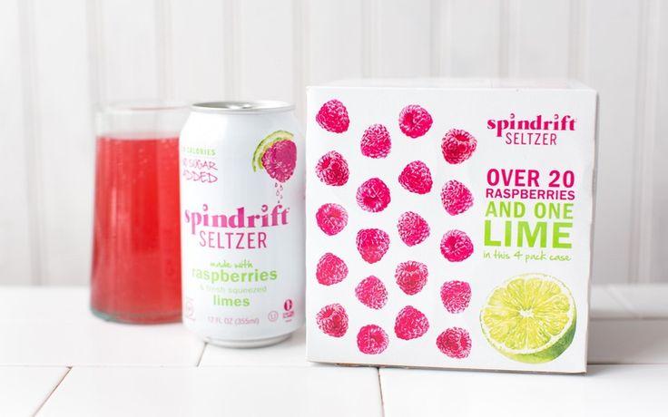 Spindrift Raspberry Lime Seltzer Water