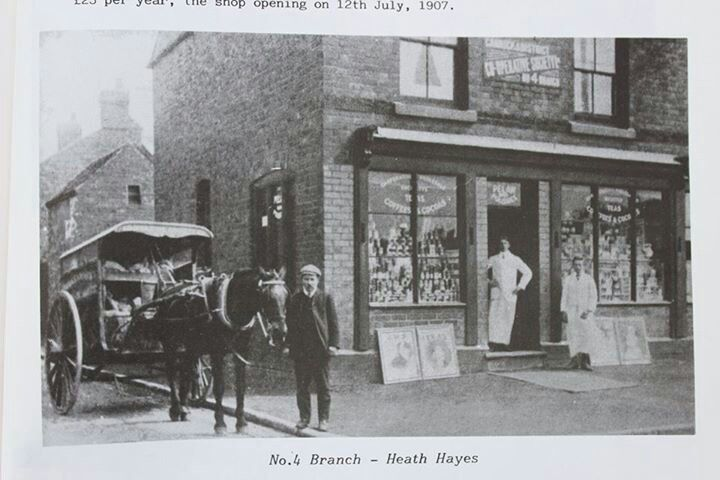 The old heath Hayes co op