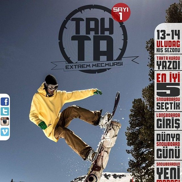 Tahta Extrem sporlar dergisi app store'da dergiler arasında ilk 50'de. The first issue of the extreme sports magazine Tahta was published. www.facebook.com/RidersArmy