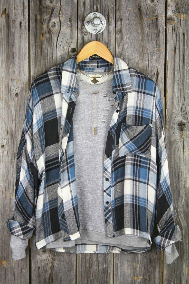 Super soft hi low flannel sugarcloth fashion more for Super soft flannel shirts