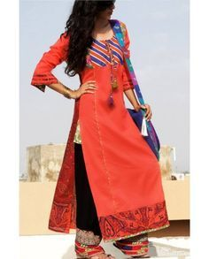 pakistani designer kurtis with different cuts - Google Search