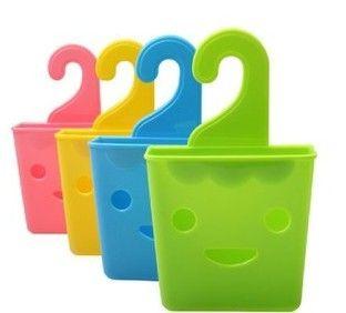 Мульти Хранения Корзины с смайлик крюк небольшой Хранения объектов корзина палочки для еды трубчатый контейнер