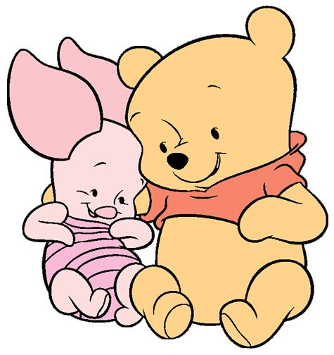 It is a photo of Obsessed Baby Winnie the Pooh and Friends