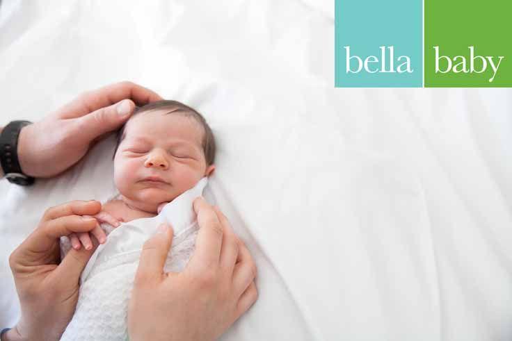 Bella baby photography photographer melissa mamroth newborn hospital lifestyle