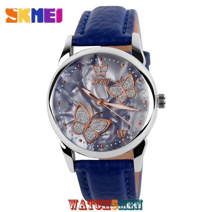 Женские+наручные+часы+Skmei+Fashion+Elegant+Blue+для+девушек+любящих+каждый+день+удивлять+окружающих+своим+неповторимым+образом…