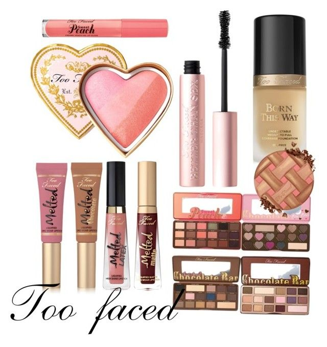 """""""Untitled #21"""" by sophieunderthestairs on Polyvore featuring beauty and Too Faced Cosmetics"""