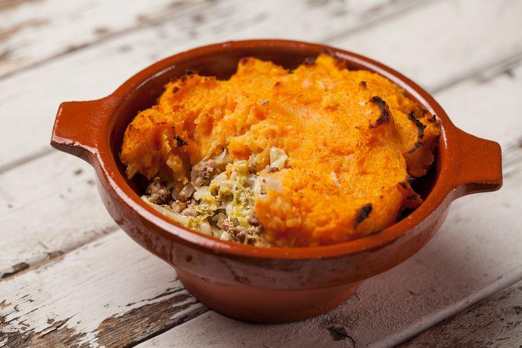 Parmentier carotte et chou