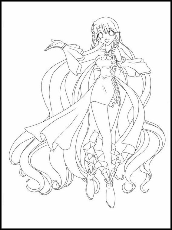 15+ Anime mermaid melody coloring pages ideas in 2021