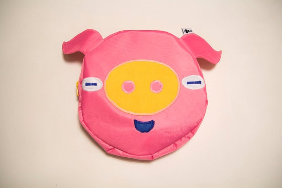 hip bag PIG by zoo52 on Etsy, zł100.00