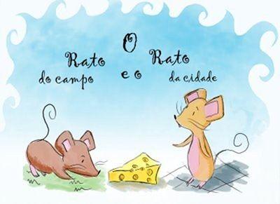 Ato de Educar: O rato do campo e o rato da cidade