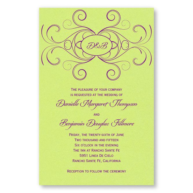 Striking Flourish Wedding InvitationsInvitations Sav, Wedding Invitations, Strike Flourish