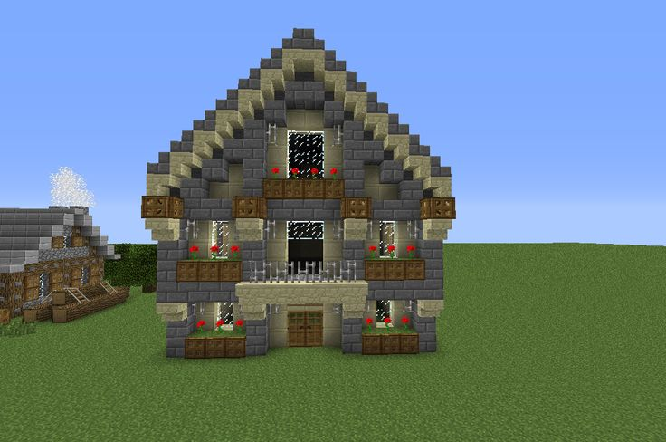 for Minecraft haus bauen