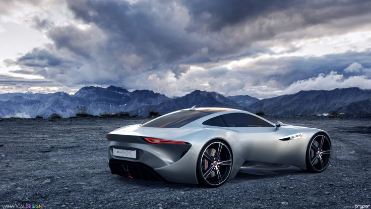 Does This Design Study Work As A New Jaguar XK Coupe?