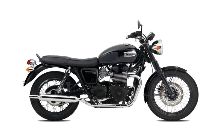 Triumph Bonneville T100 Black 2015 - very nice
