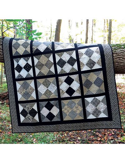 Easy Quilt Patterns For Guys : 1000+ images about Quilts for Boys/Men on Pinterest Triangle quilts, Kid quilts and Quilt