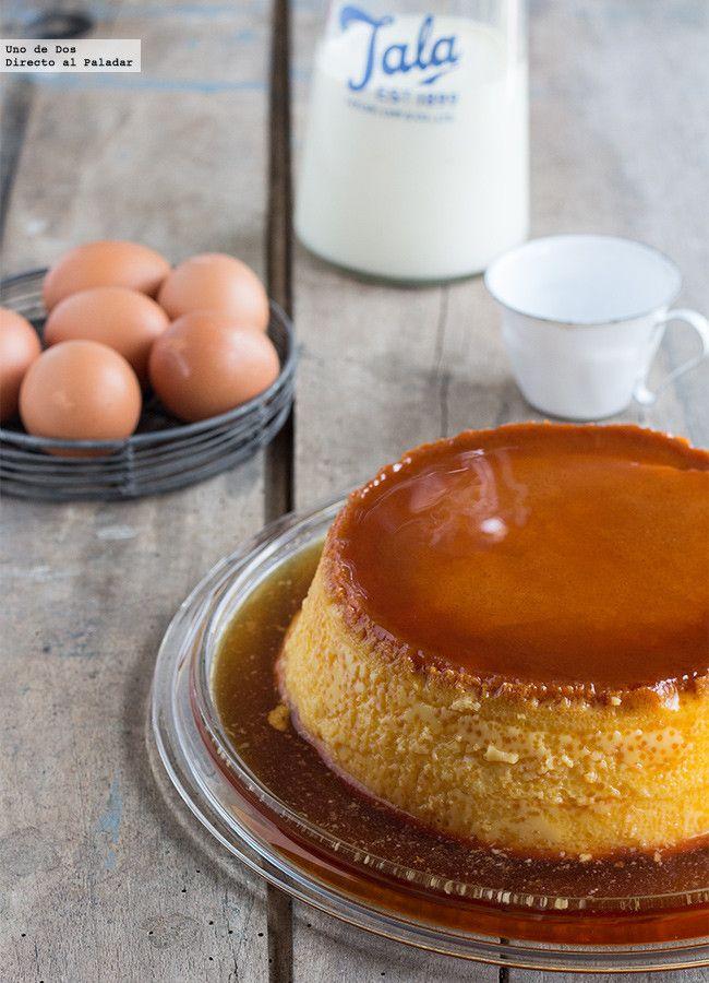 Recopilatorio de recetas de flan de huevo. 11 recetas de flan de huevo. Flan de huevo tradicional y recetas de flan originales. Ideas diferentes y ...