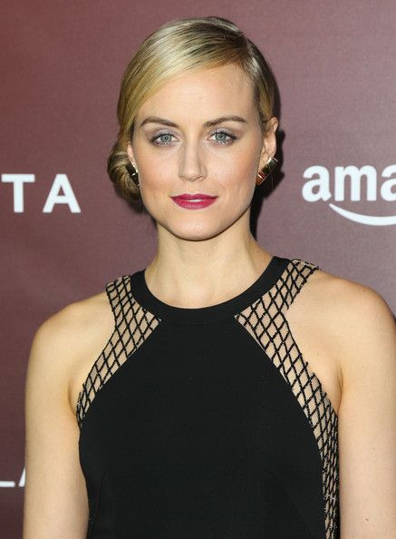 Taylor Schilling's Low Side Bun...