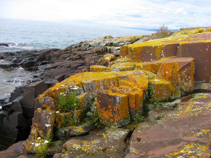 Artist Point on Lake Superior at Grand Marais, Minnesota # ...