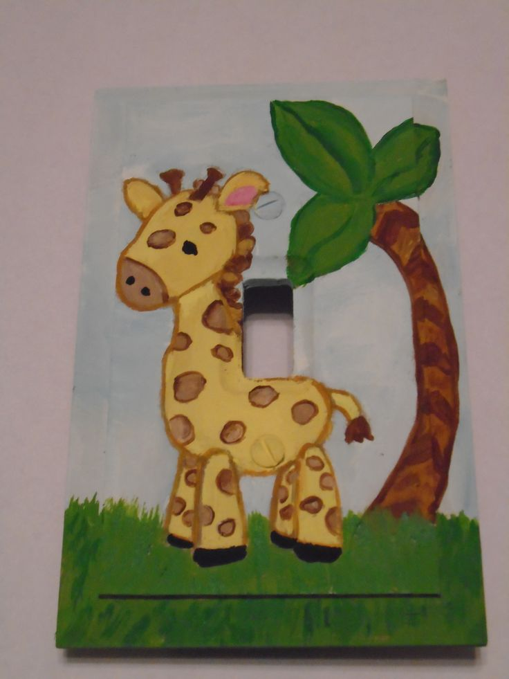 1000 Images About Hand Painted Light Switch Covers On