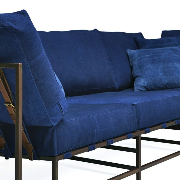 425 beste afbeeldingen over blue jean op pinterest isabel marant denim sofa en Denim couch and loveseat